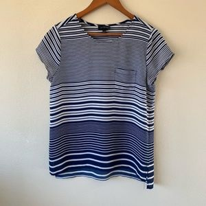 The Limited | Striped T-Shirt Blouse
